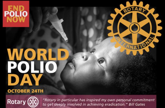 Journée mondiale contre la polio le 24 septembre 2020